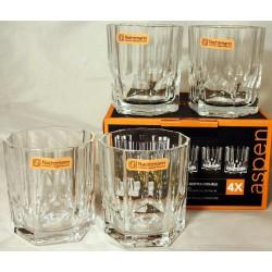 Nachtmann Whiskybecher Scotch Double Aspen 4 Stück