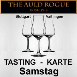Tasting-Karte Samstag 99.99.2099 Auld Rogue