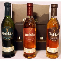 Glenfiddich Mix Pack 3 x 200ml
