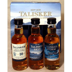 Talisker Collection Made by the sea 3x 5cl