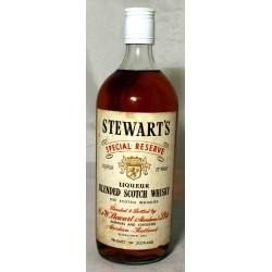 Stewart's Special Reserve Blended Scotch Whisky Liqueur Rarität