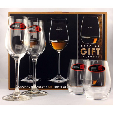 Riedel  Cognac Hennessy Geschenkpackung