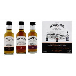 Bowmore Distillers Collection 3 x 5cl