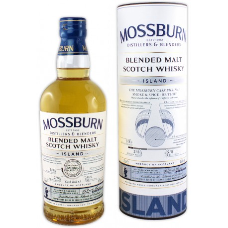 Mossburn Cask Bill No 1, Island