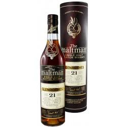 Glenrothes 1996, 21 Jahre,  Maltman