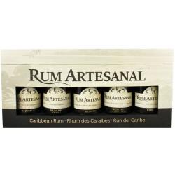 Rumbox Artesanal Caribbean Rum 5 x 0,2l GP