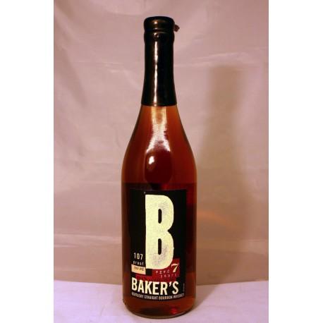 Baker's Kentucky Straight Bourbon aged 7 years