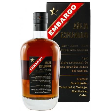 Embargo Anejo Esplendido Karibischer Rum