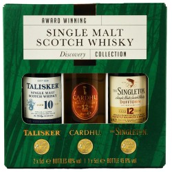 Discovery Collection Single Malt Scotch Whisky 3x 5cl