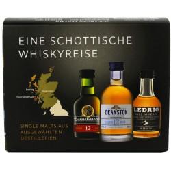Schottische Whiskyreise 3 x 5cl