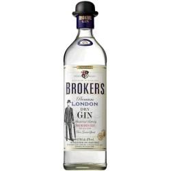 Broker's Gin Miniatur