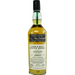 Bowmore 2003, 16 Jahre, First Editions