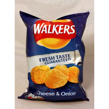 Walkers Cheese & Onion Chips
