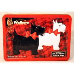Walkers Shortbread Scottie Dogs tin