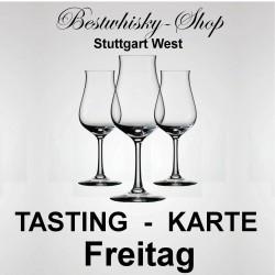 Tasting-Karte Samstag 99.99.2099 Bestwhisky Shop