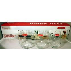 Spiegelau Universalbecher Kristallglas  Bonus Pack 6 Stück