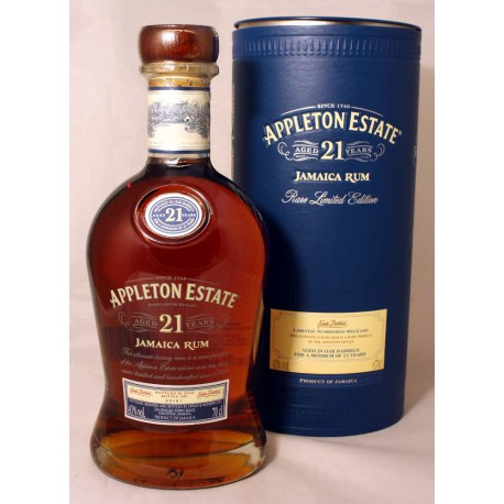 Appleton Estate 21 Jahre, Jamaica Rum