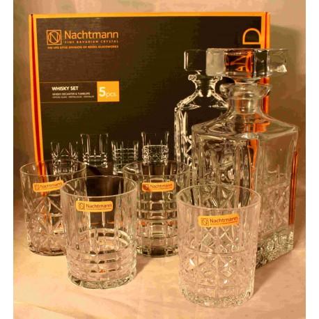 Nachtmann Karaffe mit 4 Gläsern